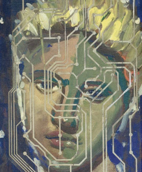 Figures Original Art - Chip - Figure, F. Fortoul, 2000