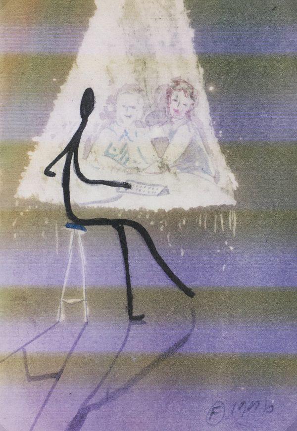 Figures Original Art - Figures, F.Fortoul, 1996