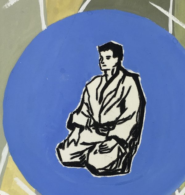 Figures Original Art - Judo, C.1960
