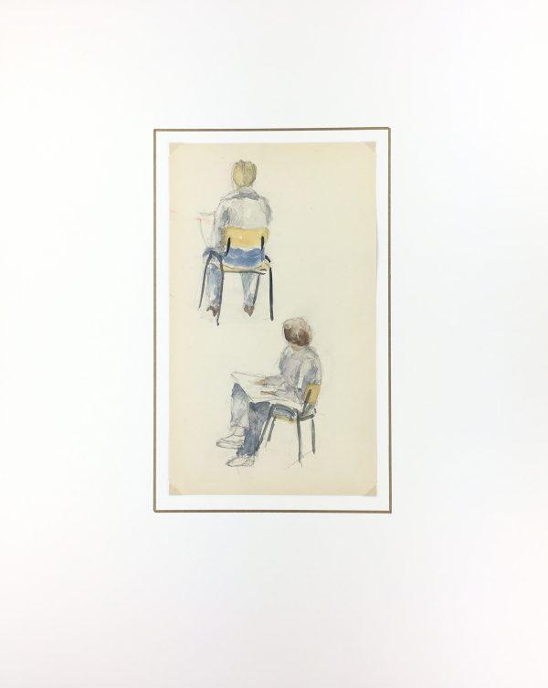 Figures Original Art - Artists, C.1980