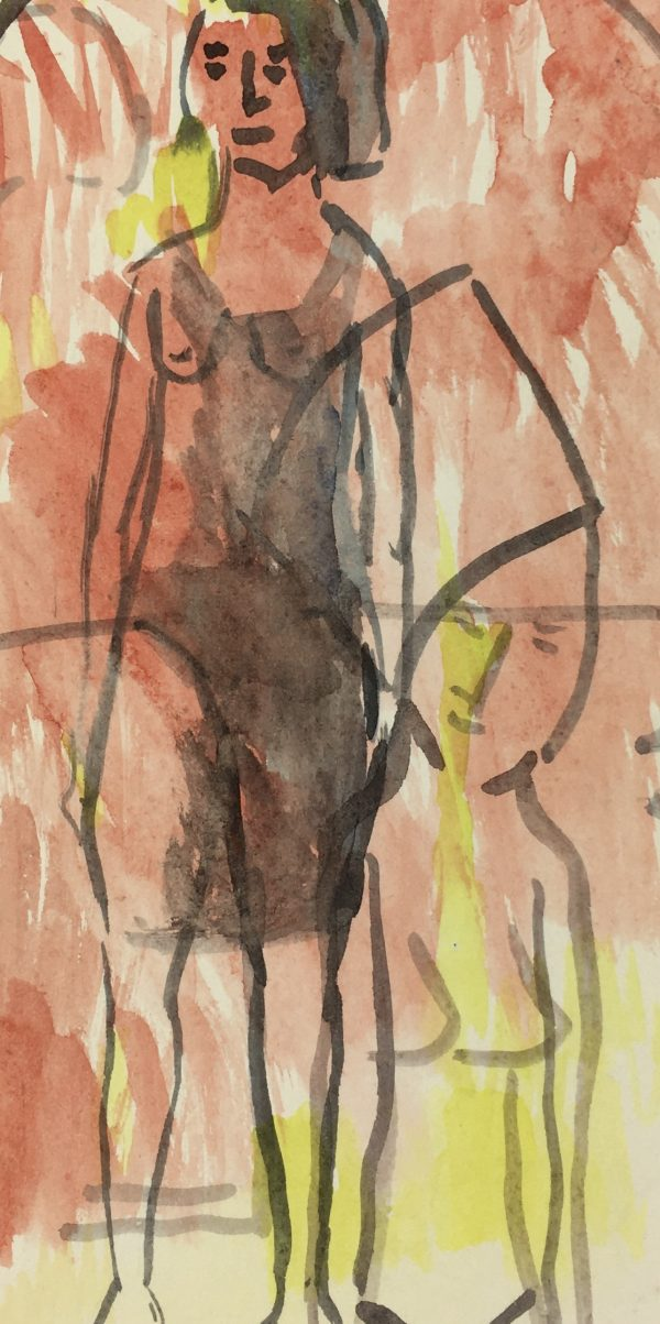 Figures Original Art - Abstract, D. Lesne Pigeaud, 2010