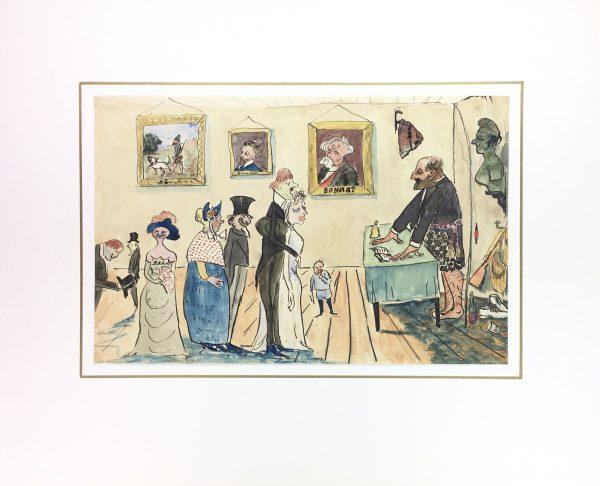 Figures Original Art - Wedding Ceremony, C.1960