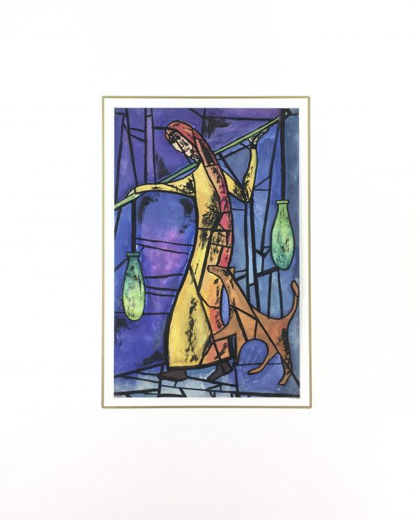 Figures Original Art - Porteur, C.1950