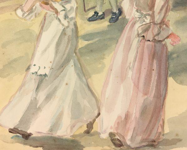 Figures Original Art - Bygone, C.1930
