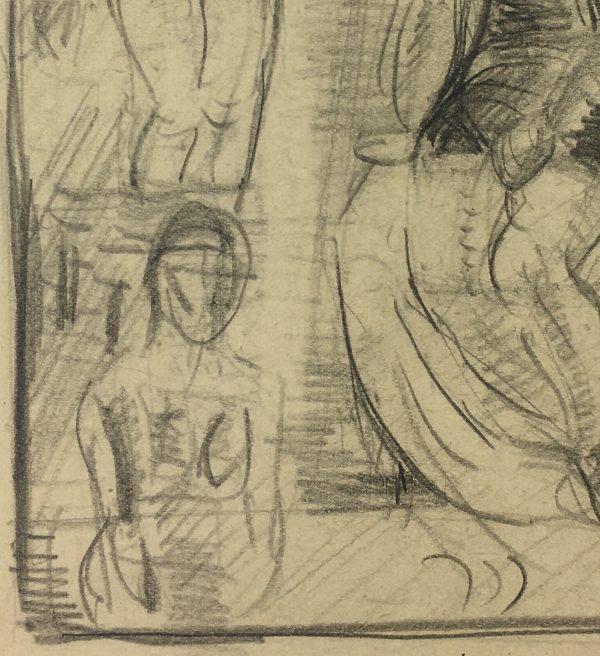 Figures Original Art - Silhouettes, C.1920
