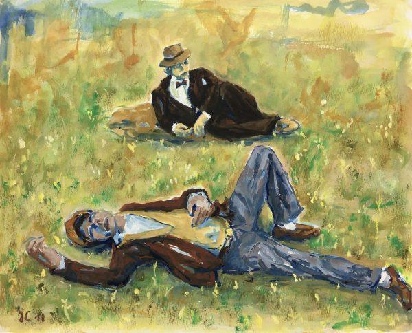 Figures Original Art - Rest, 2011