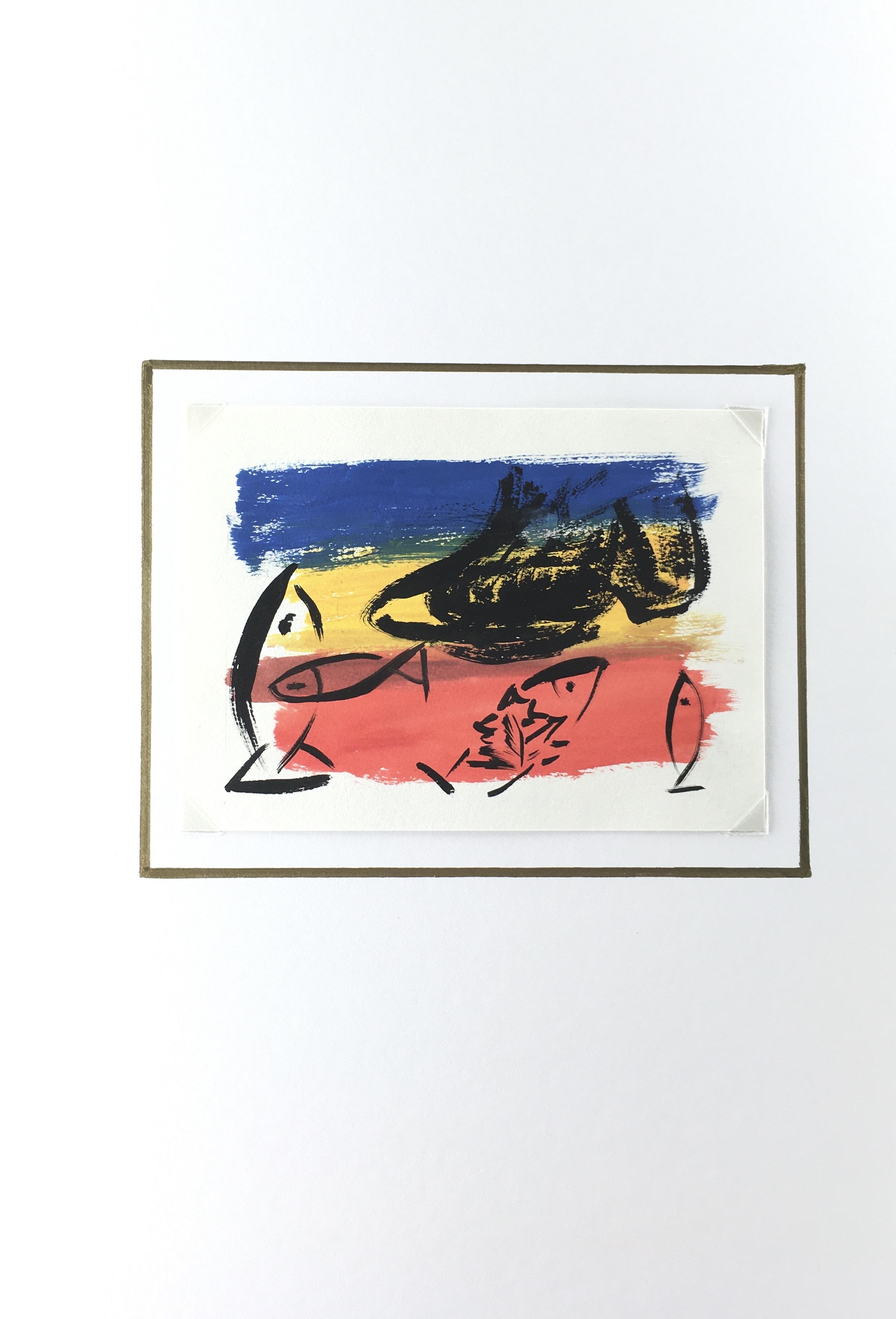 Animals Fish & Fishing Original Art - Tricolored Fish, 2000