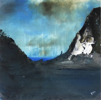 Mountains Original Art - Charbonnieres, Dromard, 2010
