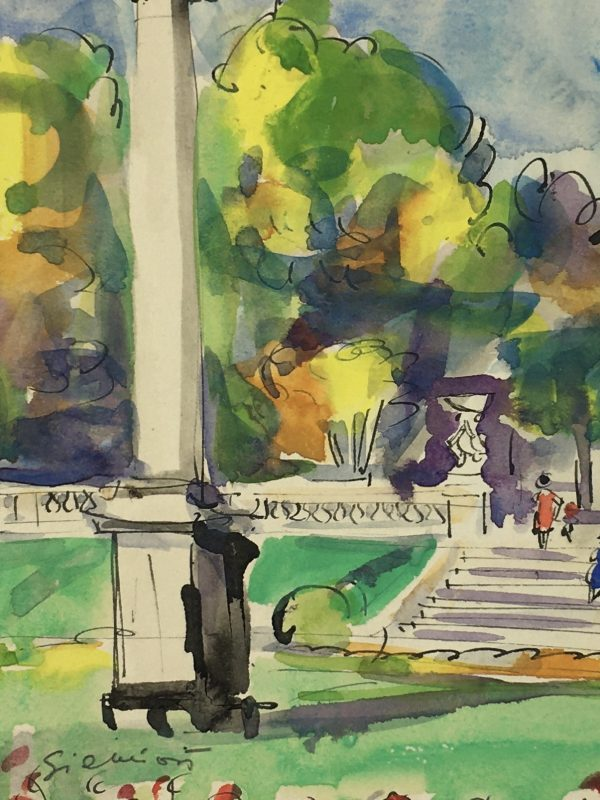 Paris, France Original Art - Paris, Siemion, 1955