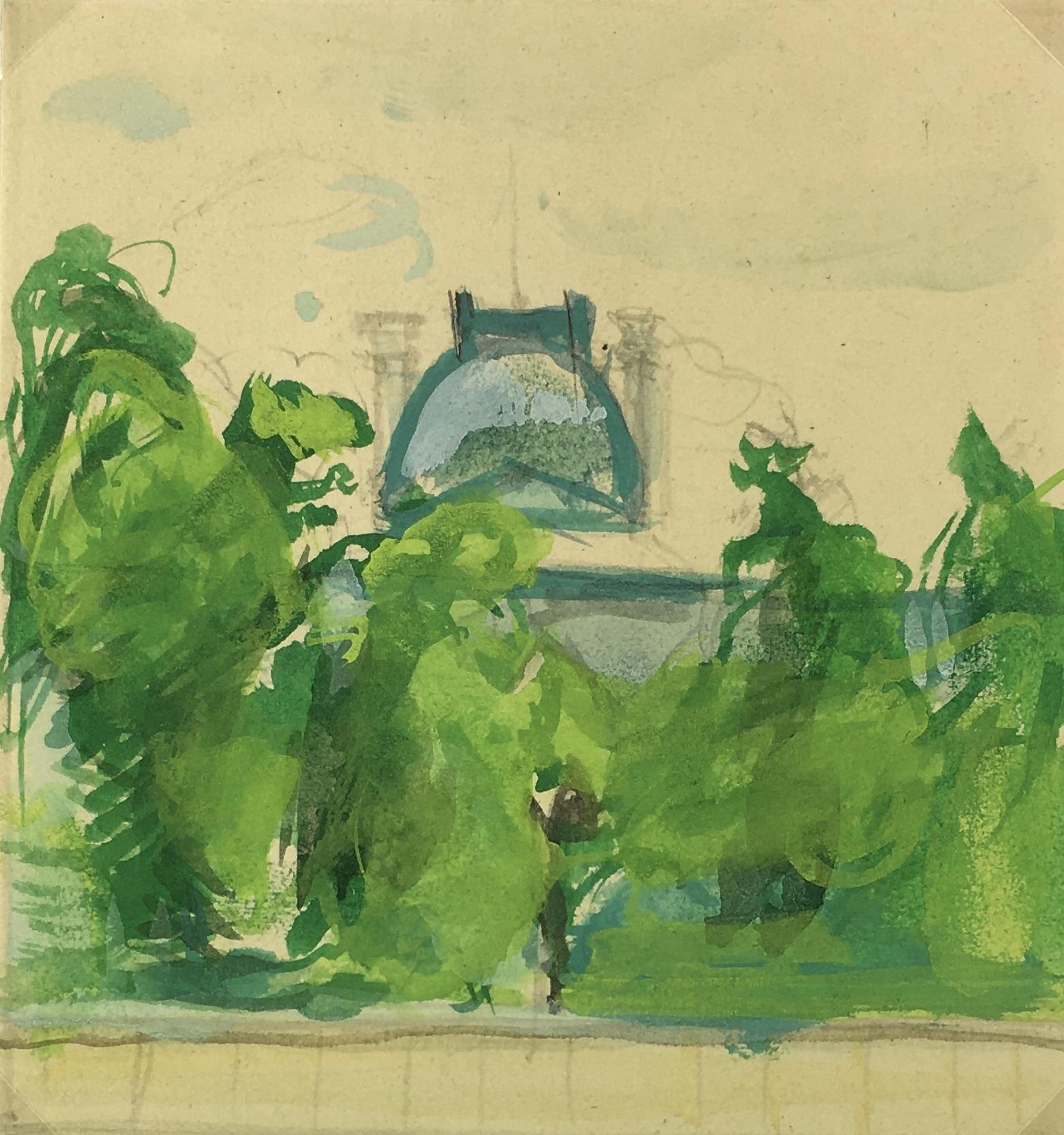 Paris, France Original Art - Paris, Key Mitsuuchi(1948-01), 1990