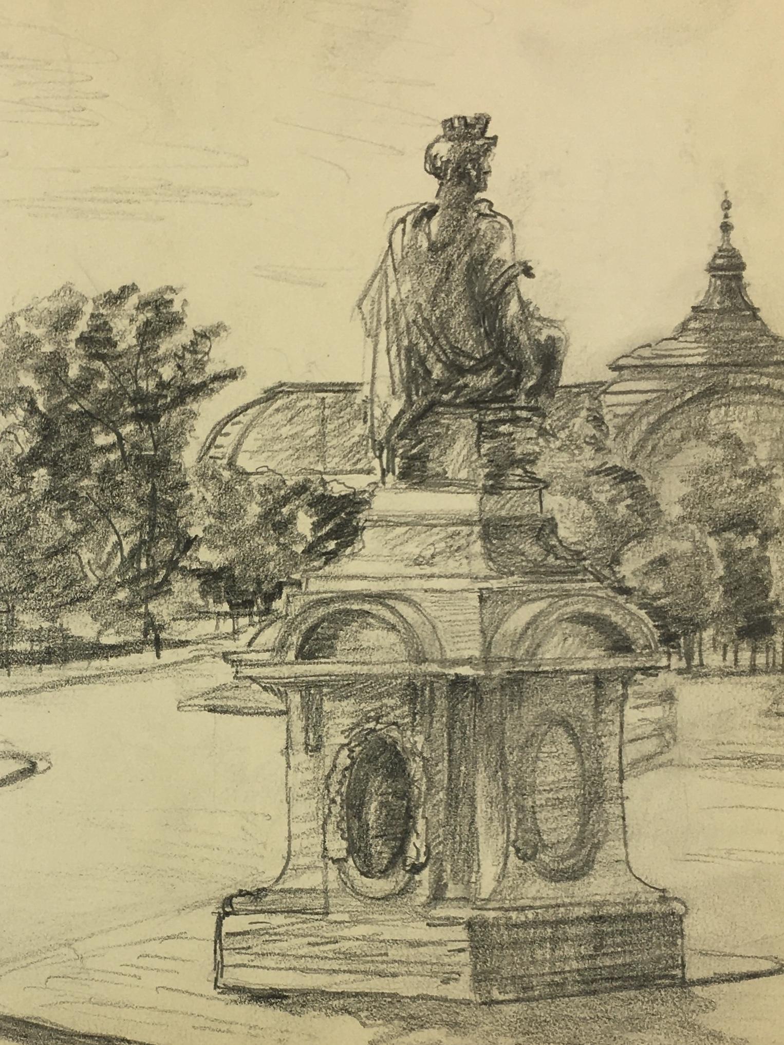 Paris, France Original Art - Paris, VB, 1935