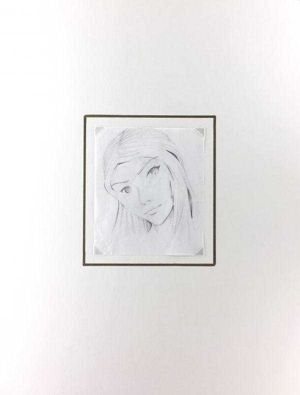 Portraits Original Art - Mi Vision , Aida Correa , 2012