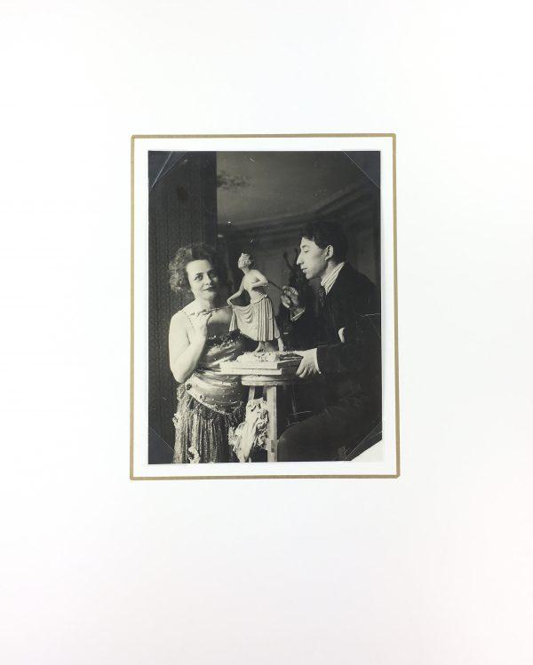 Portraits Original Art - Gabriel Spat (1890-1967), C.1920