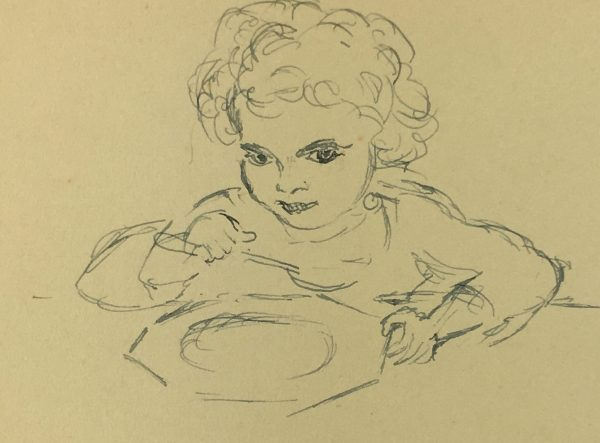 Portraits Original Art - Child, C.1930