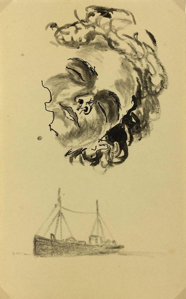 Portraits Original Art - Dream, c.1930