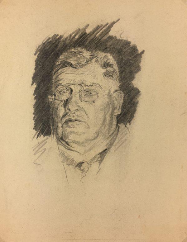 Portraits Original Art - German, C.1930