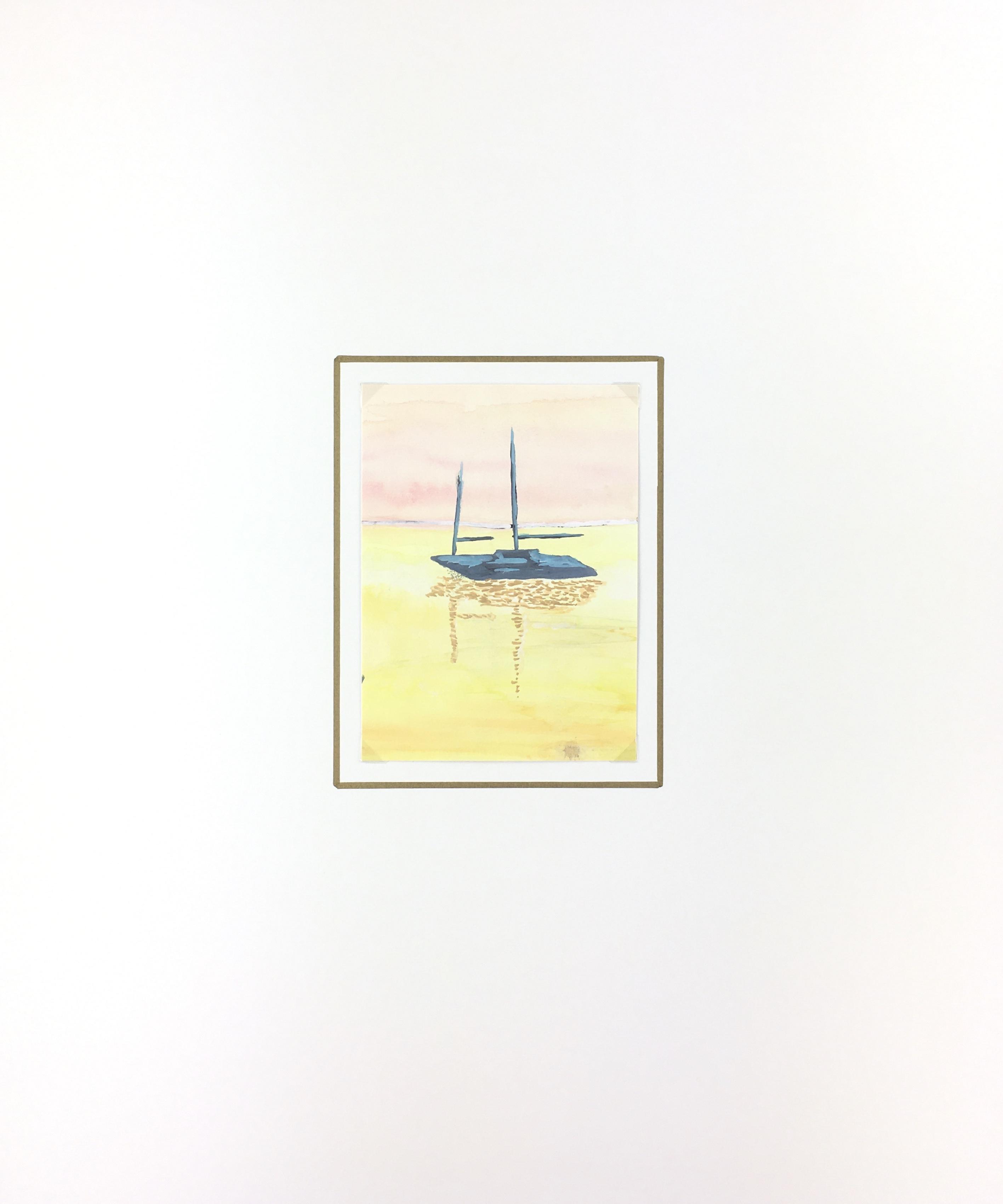 Seascapes Original Art - Sail, C.1970