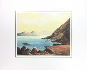Seascapes Original Art - Corsica, ZM Francois, 1970