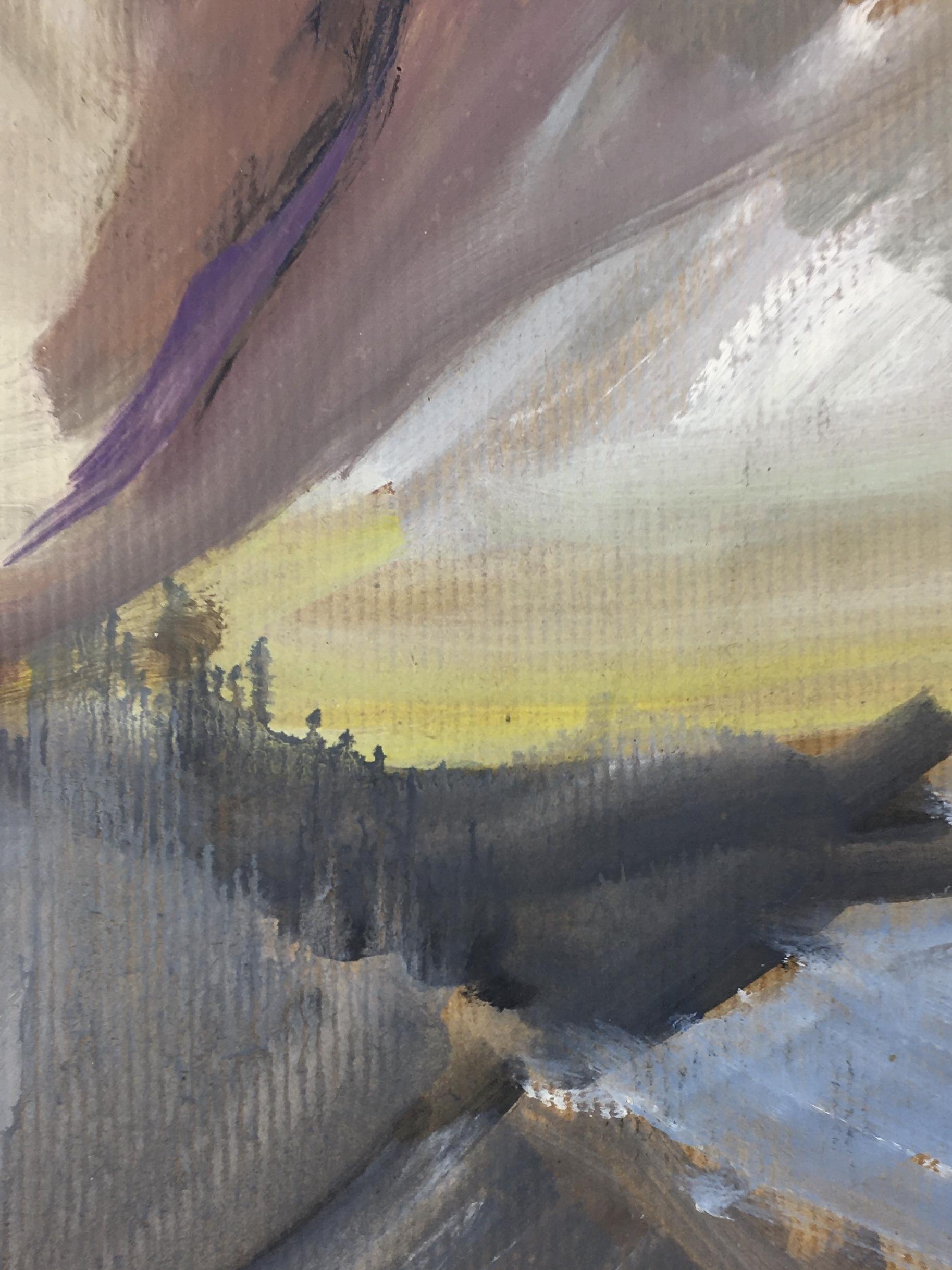 Seascapes Original Art - Abstract Coast, Jerome Dubigant, c.2000