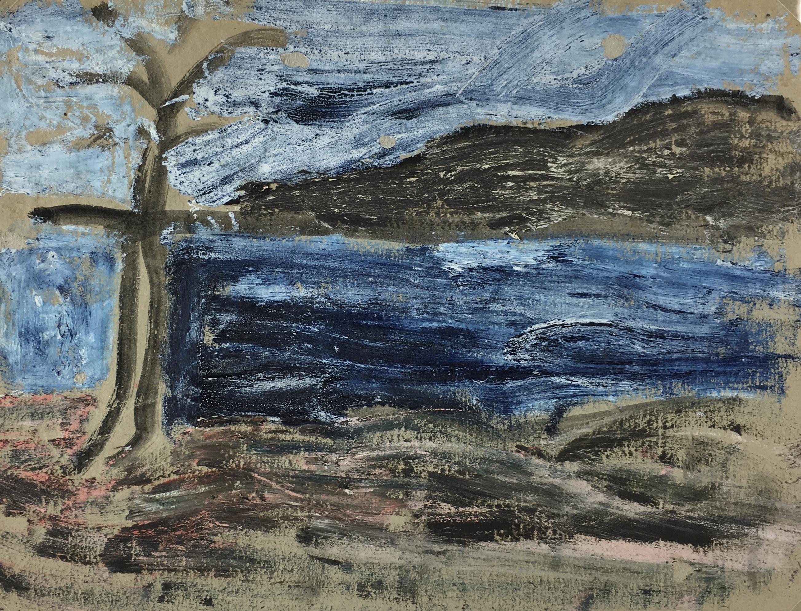 Seascapes Original Art - Modern, c.1990