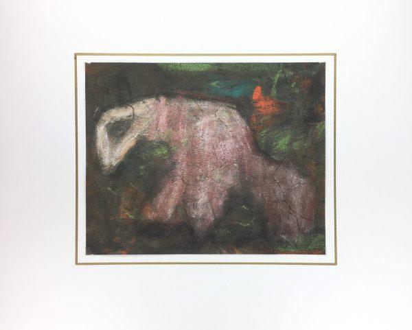 Surreal Modern Original Art - Animal Abstract, 1980