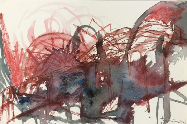 Surreal Modern Original Art - Truth III, Imelda Teran, sm Allende, C.1995