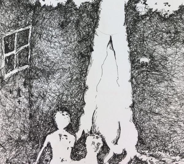 Surreal Modern Original Art - Legacion , Christain Kuk, 2012