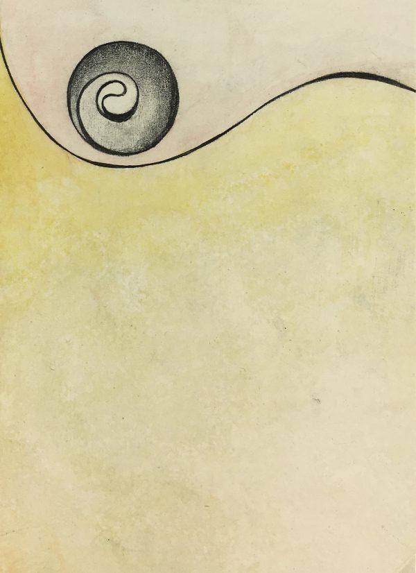 Surreal Modern Original Art - Sinuous, 2000