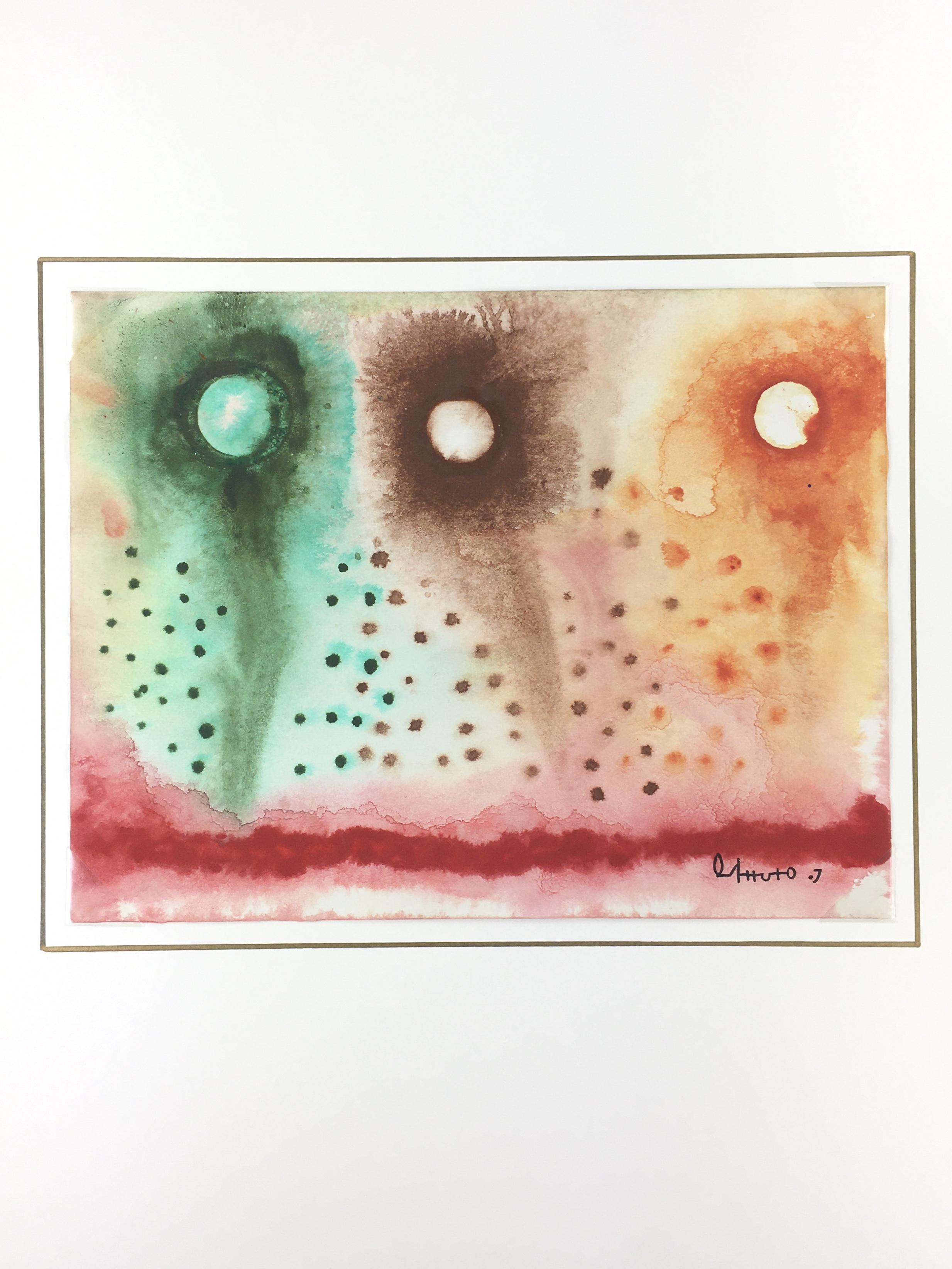 Surreal Modern Original Art - En Colores, Oscar Arturo, 2010