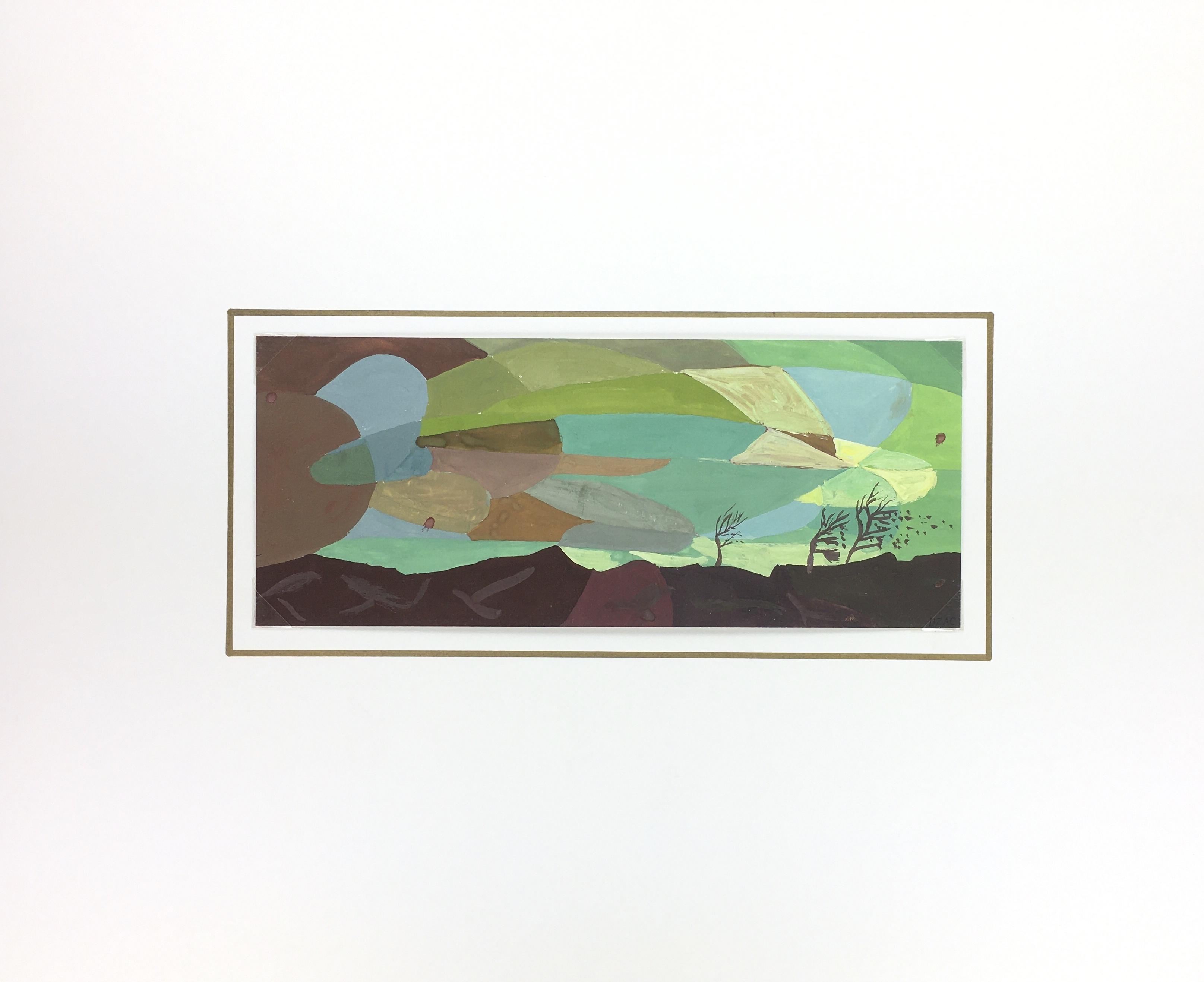 Surreal Modern Original Art - Abstract, C.1950