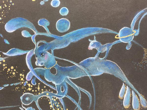 Surreal Modern Original Art - Fantasy, 2000