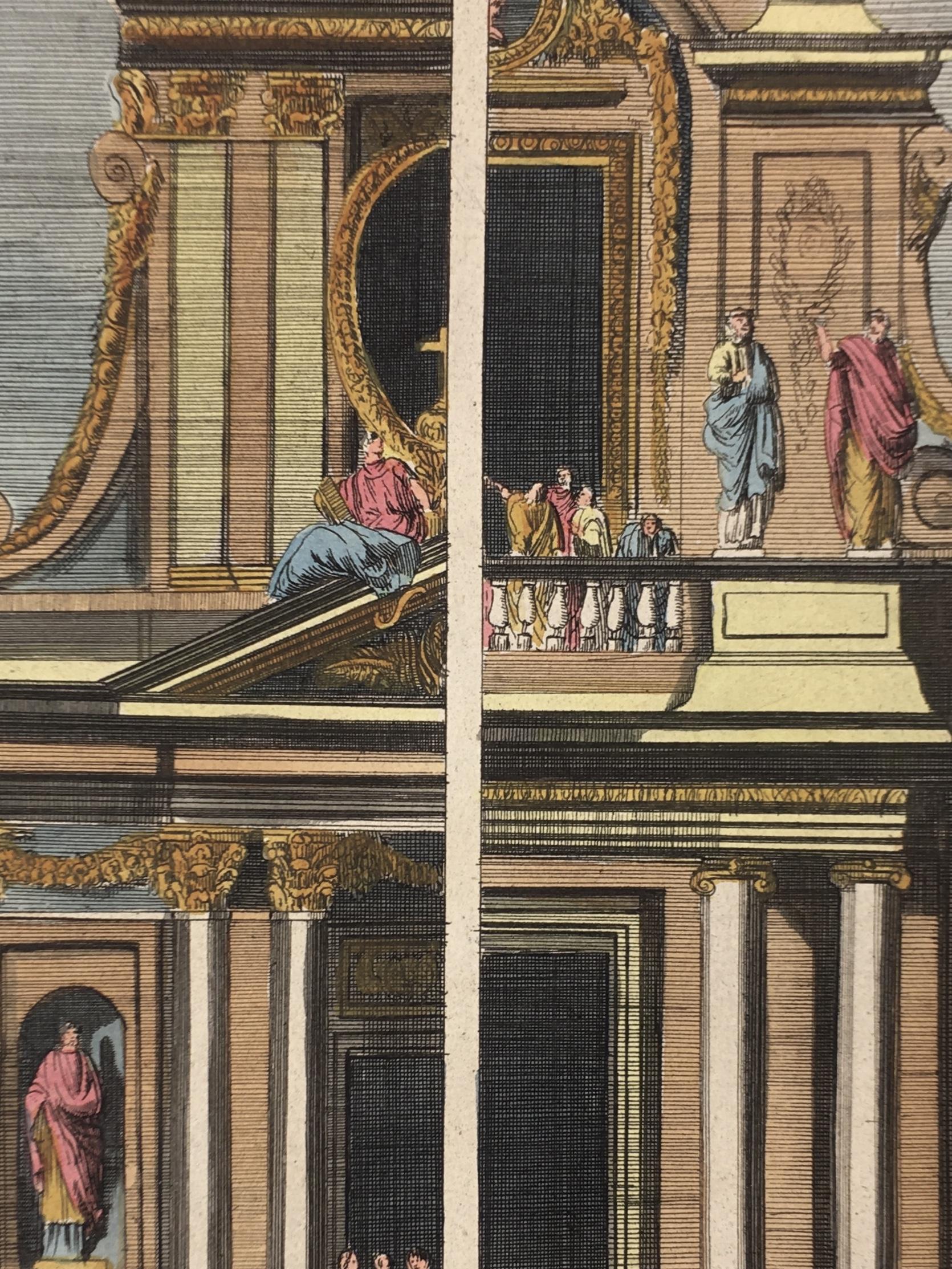 Architecture Print - Architecture, C.1720